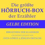 Die größte Hörbuch-Box der Erzähler: Gelbe Edition - Bibliothek der Klassiker