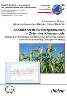 Christine von Buttlar: Anbaukonzepte für Energiepflanzen in Zeiten des Klimawandels