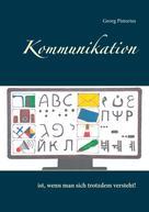 Georg Pistorius: Kommunikation