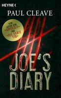 Paul Cleave: Joe's Diary ★★★