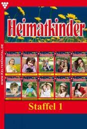 Heimatkinder Box 1 – Heimatroman - E-Book 1-5