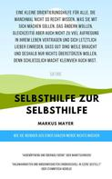 Markus Mayer: Selbsthilfe zur Selbsthilfe
