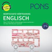 PONS Wortschatz-Hörtraining Englisch - Audio-Vokabeltrainer für Anfänger