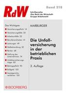 Horst Marburger: Die Unfallversicherung in der betrieblichen Praxis