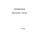 Walt Jitner: The Obama Blues