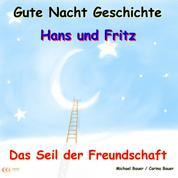 Gute-Nacht-Geschichte: Hans und Fritz - Das Seil der Freundschaft - Wunderschöne Einschlafgeschichte für Kinder bis 12 Jahren