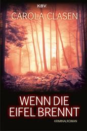 Wenn die Eifel brennt - Kriminalroman