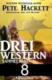 Pete Hackett - Drei Western, Sammelband 8 - Sie waren Partner / Das Teufelsweib aus Texas / Chad Everett – wie eine Ladung Dynamit