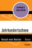 Ernst Halter: Jahrhundertschnee