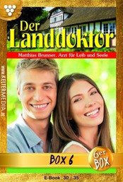 Der Landdoktor Jubiläumsbox 6 – Arztroman - E-Book 30-35