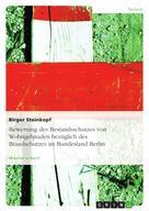 Birger Steinkopf: Bewertung des Bestandsschutzes von Wohngebäuden bezüglich des Brandschutzes im Bundesland Berlin