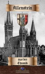Zur Allensteiner Stadtchronik der Jahre 1802 bis 1827 - und zur Geschichte des Schulwesens zu Allenstein