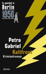 Kaltfront - Der 24. Kappe-Fall. Kriminalroman (Es geschah in Berlin 1956)