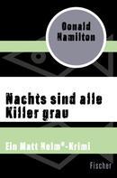 Donald Hamilton: Nachts sind alle Killer grau ★★★