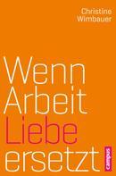 Christine Wimbauer: Wenn Arbeit Liebe ersetzt