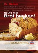 Dr. Oetker: Heute mal Brot backen! ★★★★