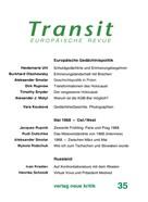 Heidemarie Uhl: Transit 35. Europäische Revue