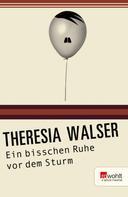 Theresia Walser: Ein bisschen Ruhe vor dem Sturm ★★