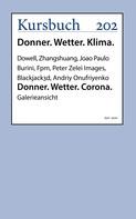 Joao Paulo Burini (u.a.): Donner. Wetter. Corona.