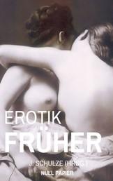 Erotik Früher