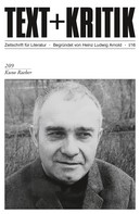 Heinrich Detering: TEXT+KRITIK 209: Kuno Raeber