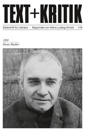 TEXT+KRITIK 209: Kuno Raeber