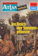 Marianne Sydow: Atlan 214: Im Reich der Sonnenpflanze ★★★★★