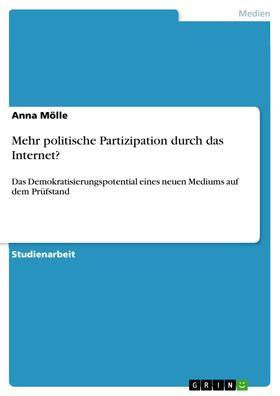 Mehr politische Partizipation durch das Internet?