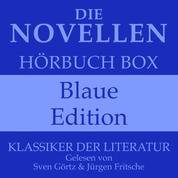 Die Novellen Hörbuch Box – Blaue Edition - Klassiker der Literatur