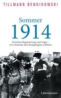 Tillmann Bendikowski: Sommer 1914 ★★★