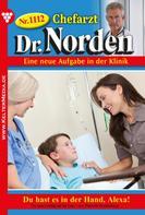 Patricia Vandenberg: Chefarzt Dr. Norden 1112 – Arztroman ★★★