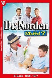 Dr. Norden Staffel 7 – Arztroman - E-Book 1068-1077