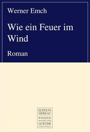 Wie ein Feuer im Wind - Roman