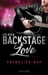 Backstage Love – Unendlich nah - Roman