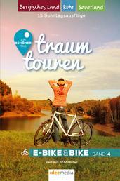 traumtouren E-Bike & Bike Band 4 - 15 Sonntagstouren: Bergisches Land, Sauerland, Ruhrgebiet