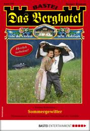 Das Berghotel 197 - Heimatroman - Sommergewitter