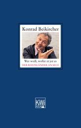 Wer weiß, wofür et jot es - Der Rheinländer an sich - Das neue rheinische Grundgesetz