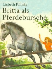 Britta als Pferdebursche