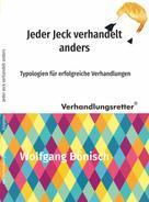 Wolfgang Bönisch: Jeder Jeck verhandelt anders
