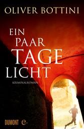 Ein paar Tage Licht - Kriminalroman