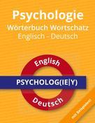 Roland Russwurm: Psychologie Wörterbuch Wortschatz Englisch - Deutsch