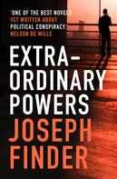 Joseph Finder: Extraordinary Powers ★★★★