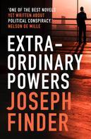 Joseph Finder: Extraordinary Powers ★★★★