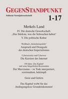 GegenStandpunkt Verlag München: GegenStandpunkt 1-17