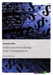 Softwareentwicklung und Vertragstypen