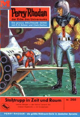 Perry Rhodan 268: Stoßtrupp in Zeit und Raum
