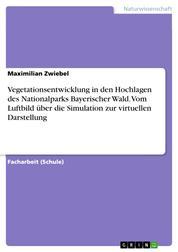 Vegetationsentwicklung in den Hochlagen des Nationalparks Bayerischer Wald. Vom Luftbild über die Simulation zur virtuellen Darstellung