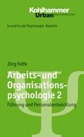 Jörg Felfe: Arbeits- und Organisationspsychologie 2