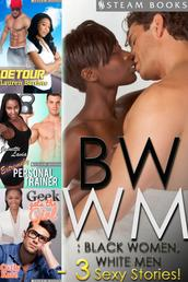 BWWM: Black Women, White Men - A Sexy Bundle of 3 Interracial Erotic Stories from Steam Books