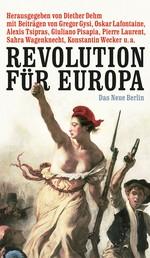 Revolution für Europa